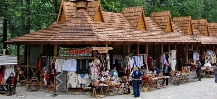 Достопримечательности области Yaremchansky