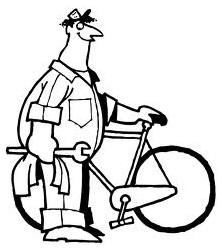 Как искать и устранить царапины в велосипеде