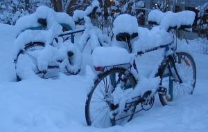 Как сделать велосипед готовым в течение зимы?