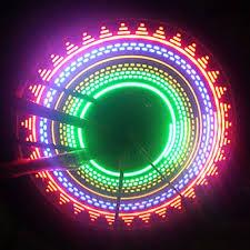 Освещение светодиода колес велосипеда