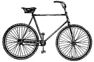 Изображенный велосипед V-912