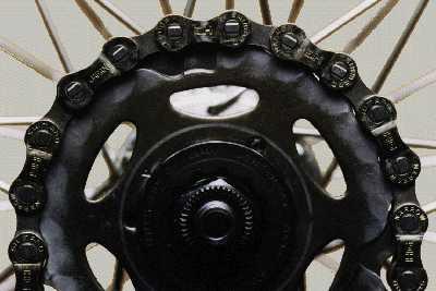 Изнашивание звездочек и цепь велосипеда