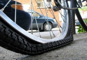 Убытки велосипедной шины