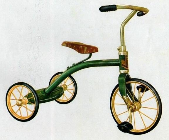 Трехколесный детский велосипед VD – 2