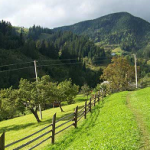 Велосипедные маршруты согласно Verkhovina
