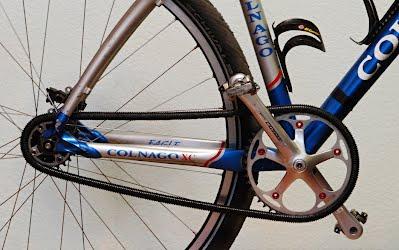 Защита цепи для велосипеда с одной передачей