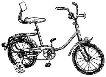Детский двухколесный велосипед V-623L Zayka Lyuks