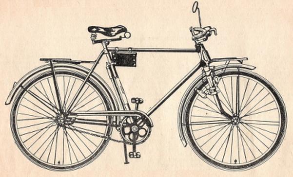 Дорожный велосипед человека В 130