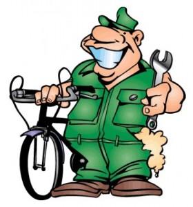 Плохо предварительно продавая подготовку велосипеда