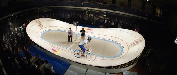Самый маленький велодром от Red Bull