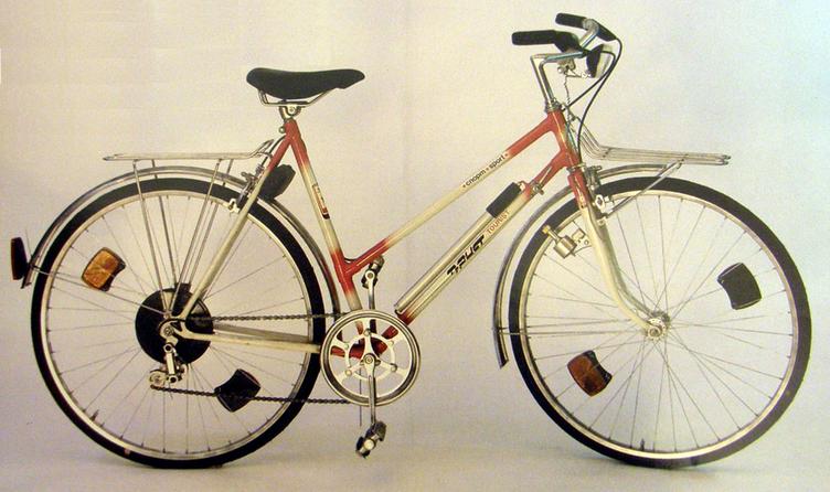 Это спортивно – туристический велосипед В153 – 462-ой Турист