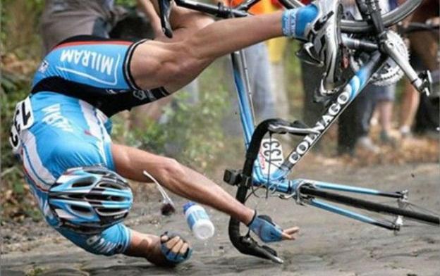 Стабильность велосипеда, тормозя