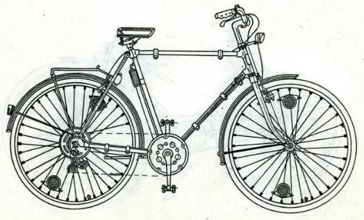 Велосипеды модели 111-523