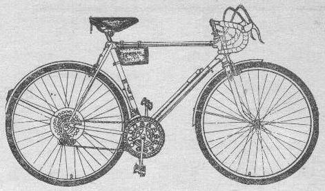 Велосипед это спортивно – турист 153-412 Спортивных