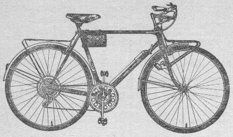 Велосипед это спортивно – турист 153-414