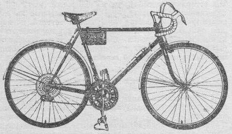 Велосипед это спортивно – турист Турист 153-411