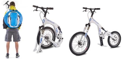 Велосипед Bezpedalny для даунхилла