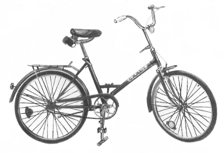 """Дорожный разборный велосипед 114 — 912 """"Приветствий?"""