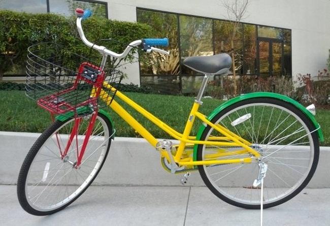 Корпоративный велосипед Google