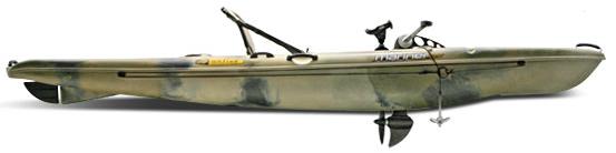 Лодка с двигателем от велосипеда
