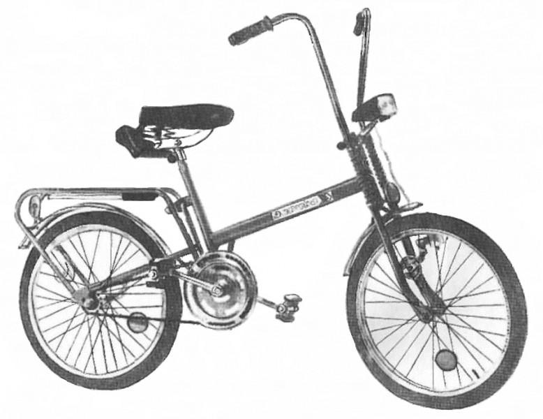 Разборный велосипед для подростков 172-121 Эврика 2