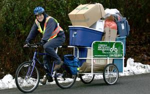 Сколько груза возможно транспортировать на прицепе для велосипеда