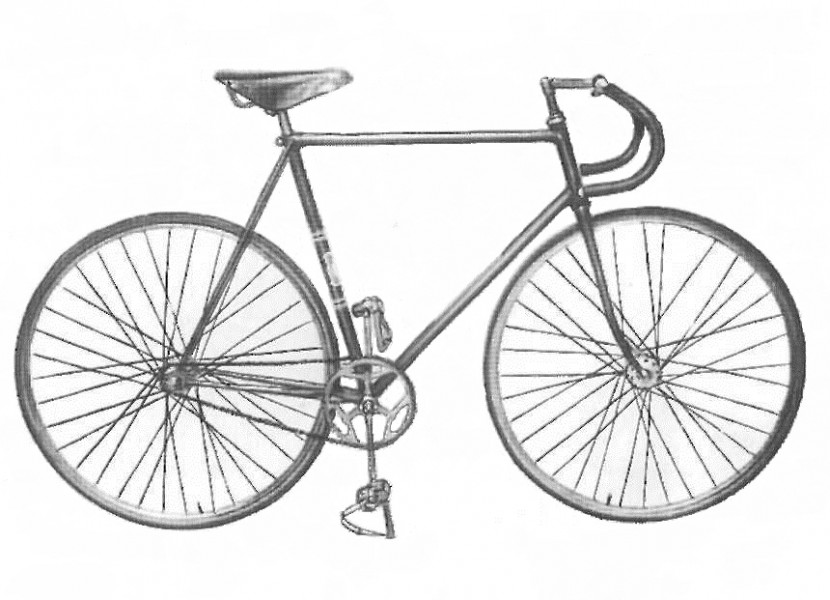 Это спортивно - велосипед следа B156-421 Рекордные