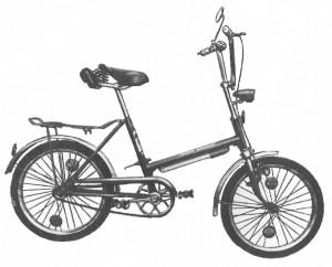 Велосипед для подростков со складной структурой Venta 175-811