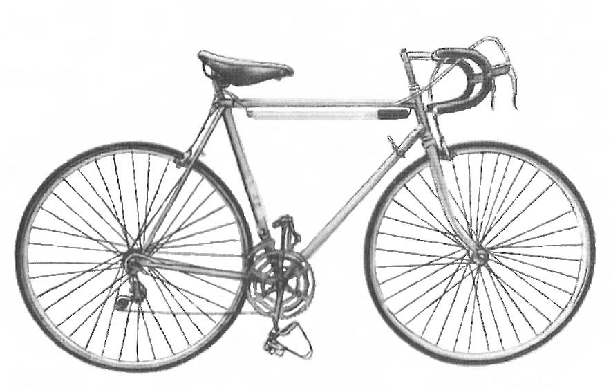 Велосипедные спортивные состязания и Велосипеды модели 155-411