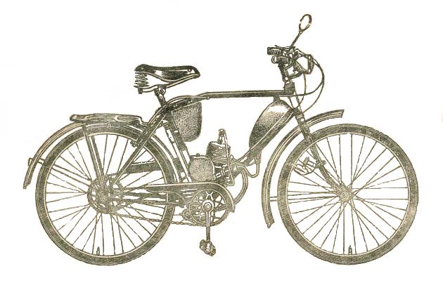Механизированный велосипед В901