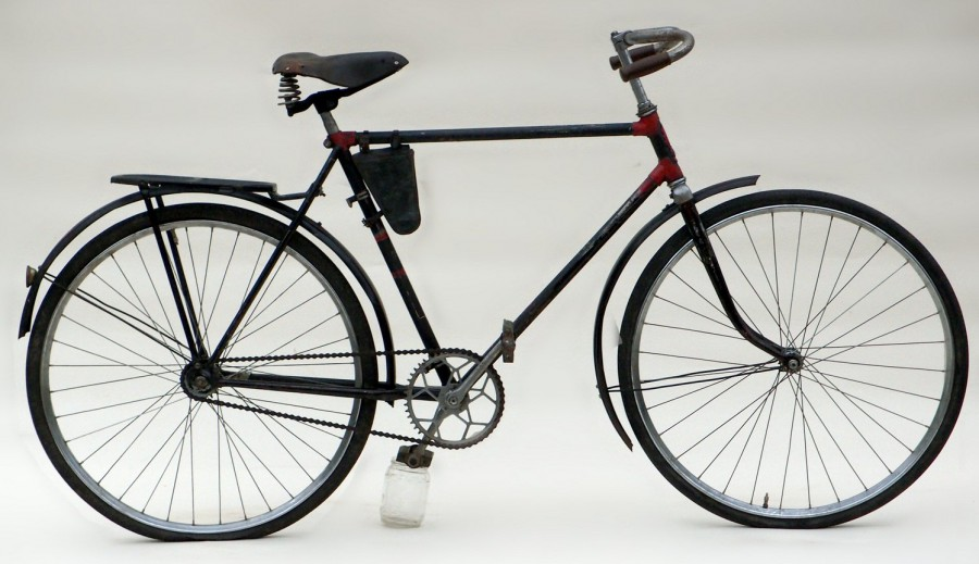 Велосипедная дорога человека В110 Продвижение